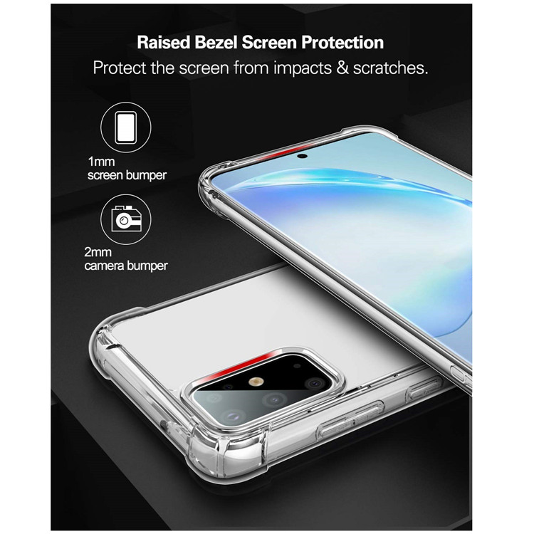 MoKo Ultra Thin Crystal Clear TPU Case Cover for Galaxy S20 Plus 5G Case/Galaxy S11 5G Case