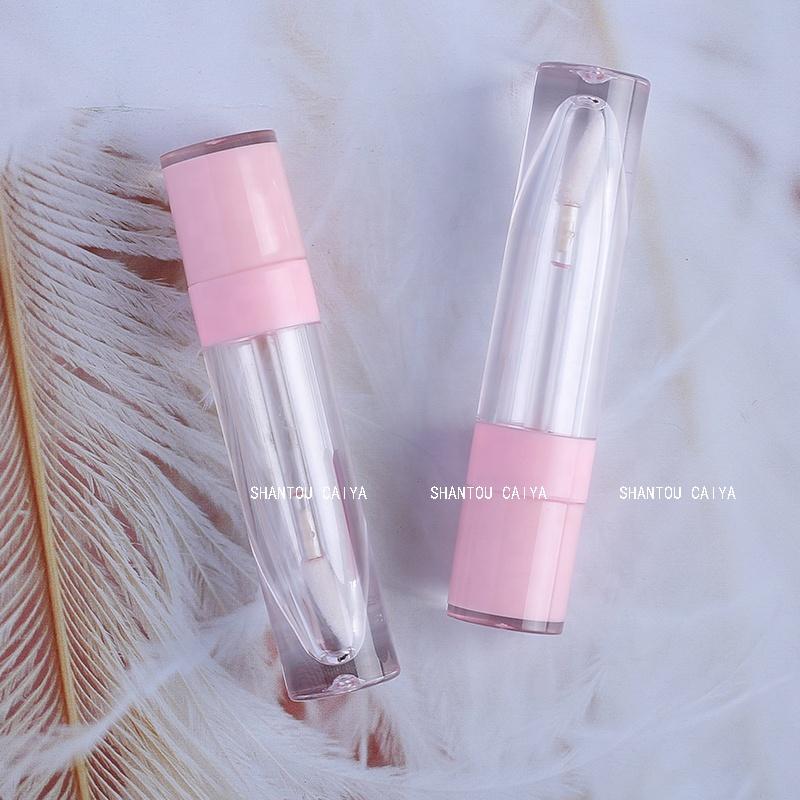 6ml Luxury Empty Baby Pink Lip Gloss Tube