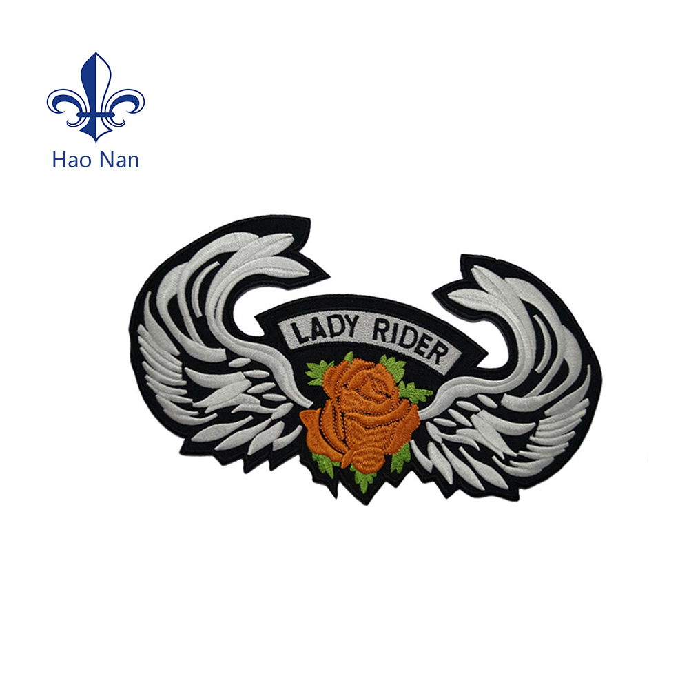 wholesale label custom embroidered patches no minimum 3d embroidery patch /label design