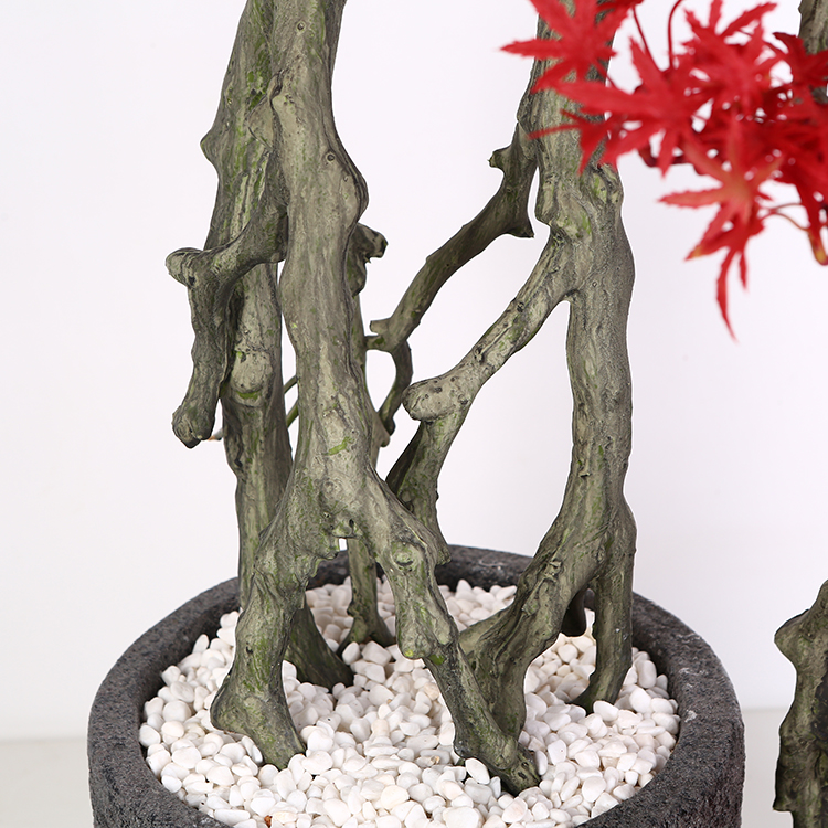 Decoración de interiores de Bonsai Artificial Árbol de la flor