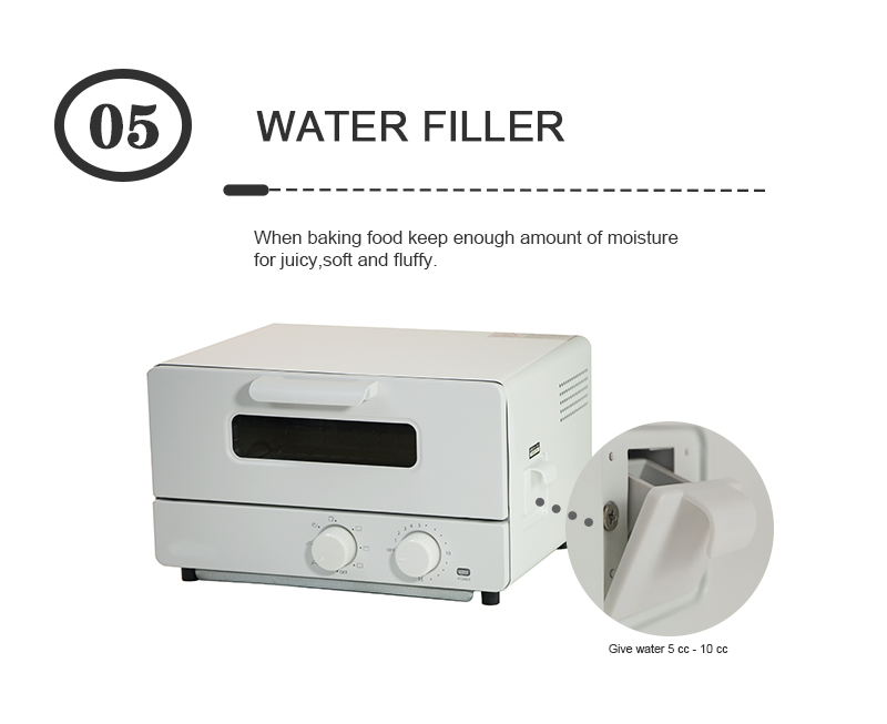 2020 new design Korean style 12L household appliances Humidifing cake oven kitchen multi-function electric oven