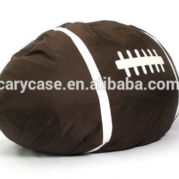 Rugby Brown Color Bean Bag Chair