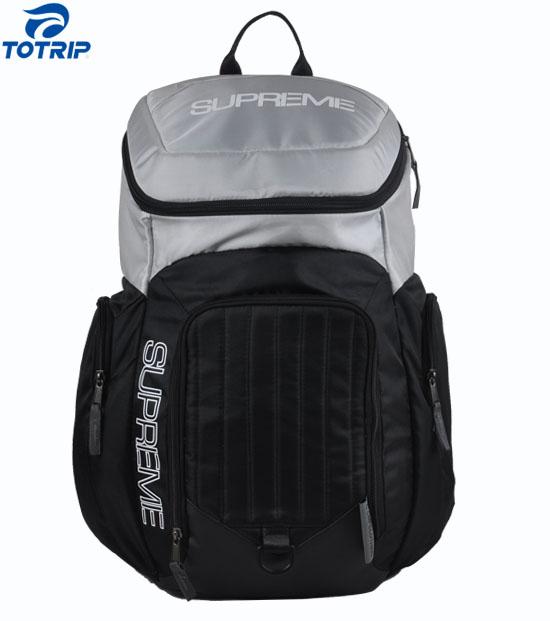 Wide mouth wrestling equipment sport backpack bag