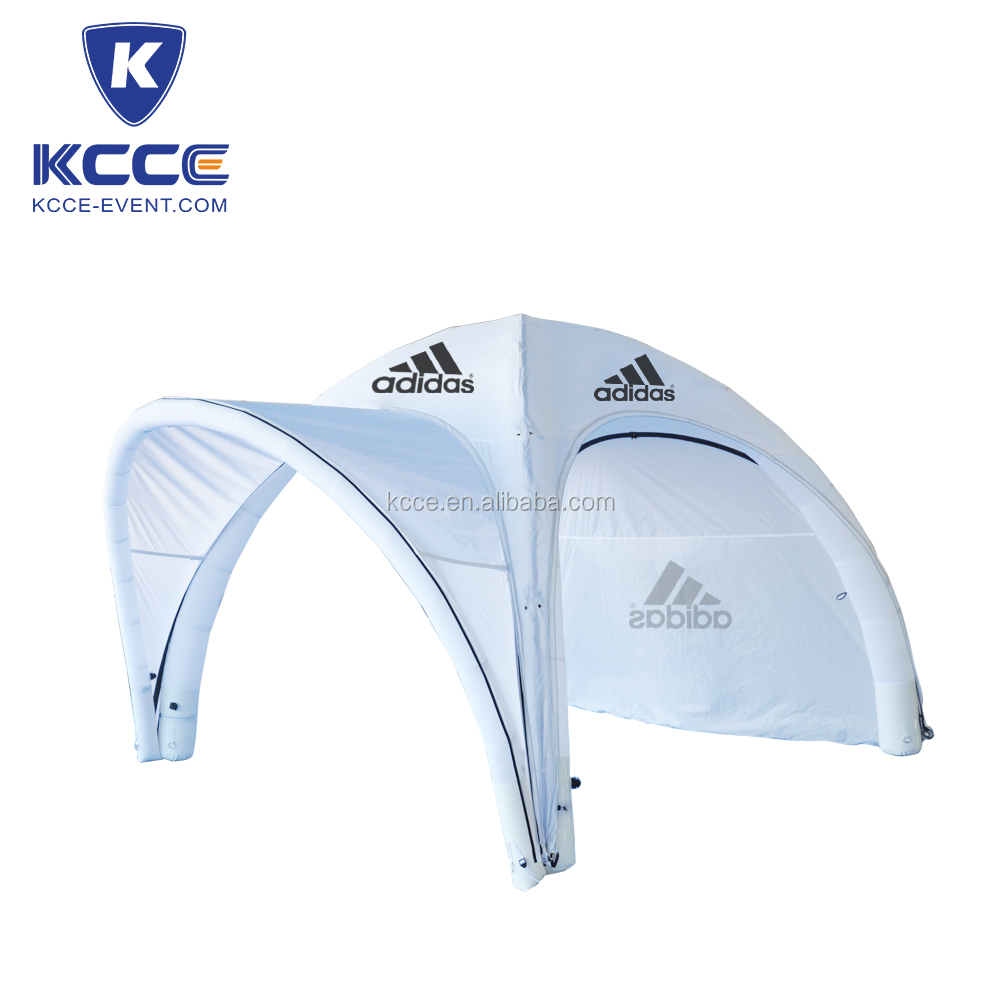 4x4m white color brand promotion Pneumatic inflated tent/air tight inflated tent//