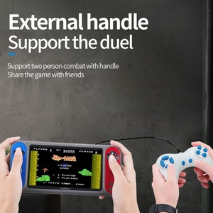 Big Screen 3000 Games 7 Inch Portable Retro Video Game 1080P TV Output Joystick Video Game Console Handheld Game Player