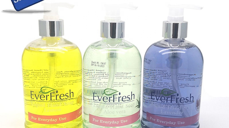 Lavender Lemon Aloe vera 500ml household Antibacterial Hand Wash Liquid Soap Gel