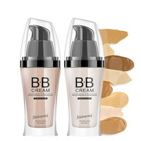 Custom Cosmetic OEM Private Label Waterproof Moisturizing Brightening Long Lasting Liquid Foundation BB Cream with SPF