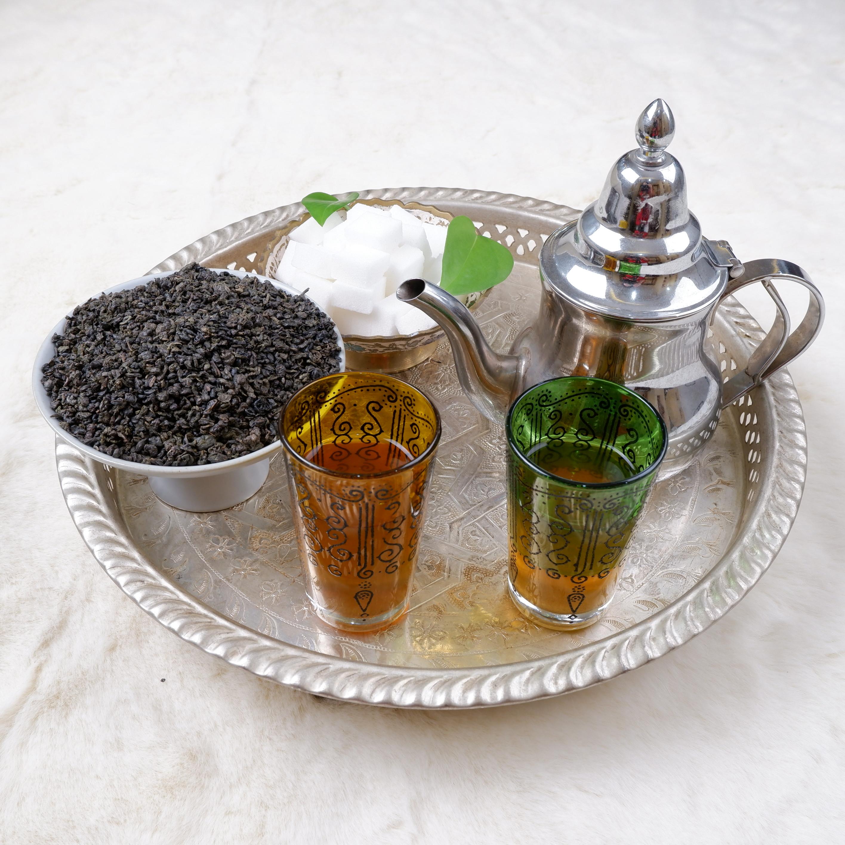 wholesale 3505AA gunpowder Chinese green tea for afternoon tea - 4uTea | 4uTea.com