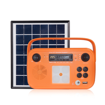 china factory Portable Mini solar generador Rechargeable with sidelight for camping Home solar power of lithium battery system