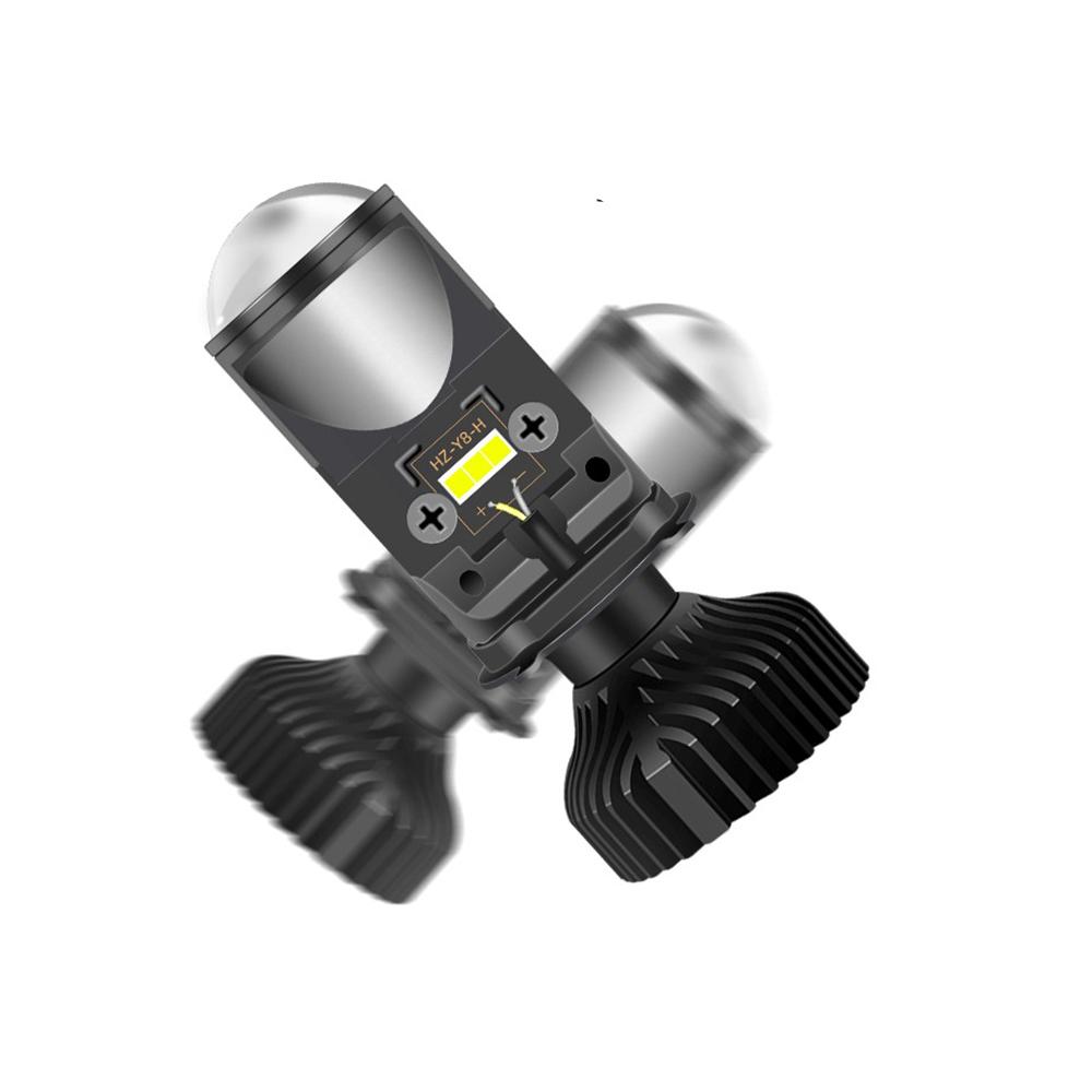 Super Bright led Projector H4 Mini Lens Y6D LED Headlight Bulbs 36W Hi Low Beam Car Light