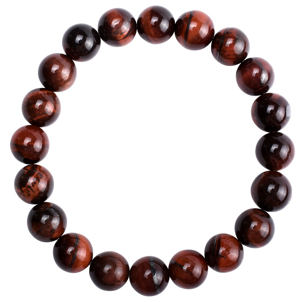 Fashion Body Conditioning Yellow/<strong>Red</strong> <strong>Tiger</strong> <strong>Eye</strong> Stone Beads <strong>Bracelet</strong> Men Women