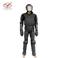 Full Body protection fire proof Armor riot control suit Military Police Equipment anti riot suit