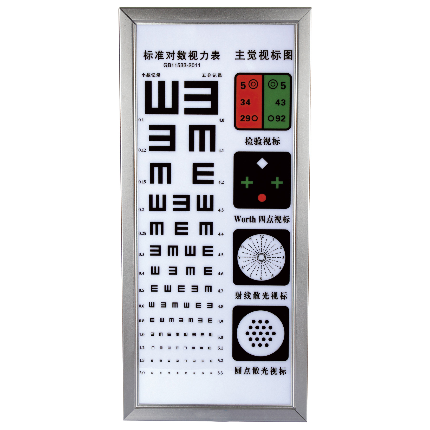 China VSO  LY-22B led visual chart