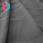 Soft Stock Fabric 100% Polyester In Stock Spring Summer Soft Black Chiffon Garment Textile Fabric