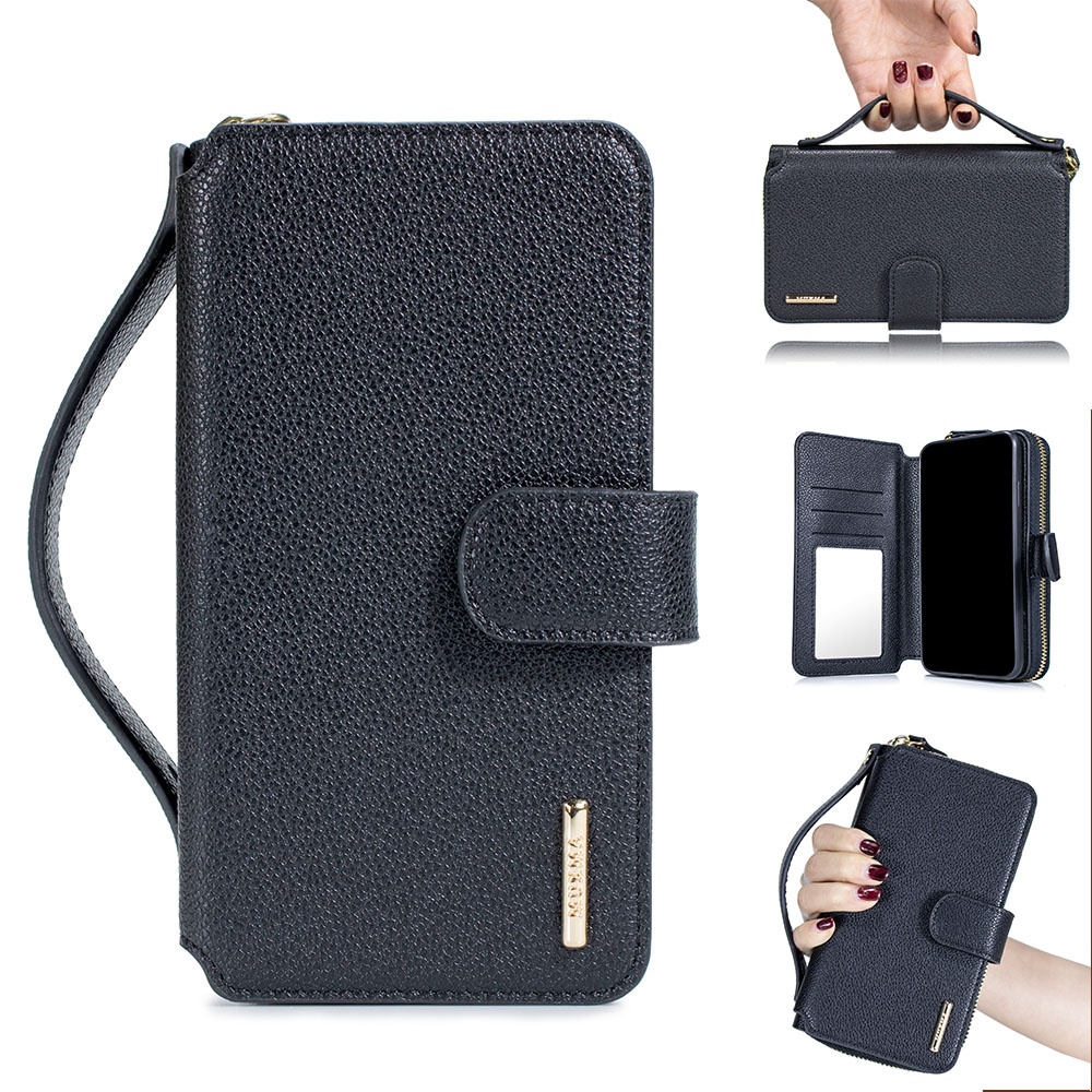 Luxus Dünne Flip Karte Brieftasche Fall Funda Für iPhone 7 Plus Abdeckung Coque für iPhone 7 Plus Fall Leder TPU shell