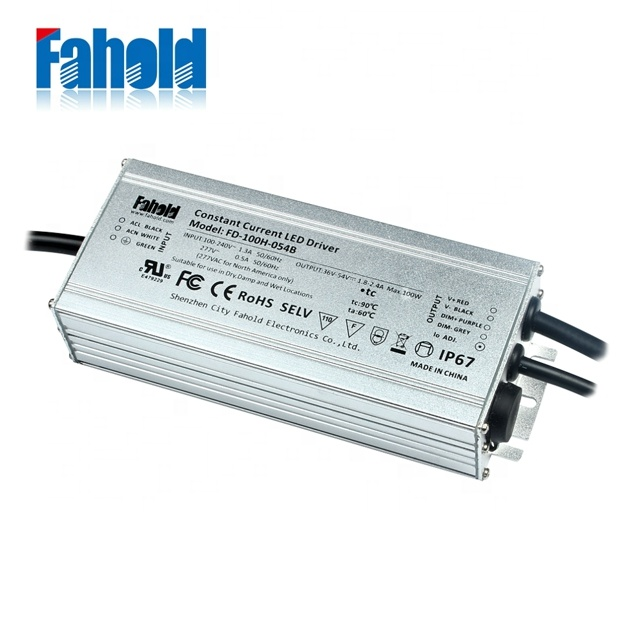 60W 80W Waterproof Constant Voltage  LED Driver 24V IP67 for LED strip light