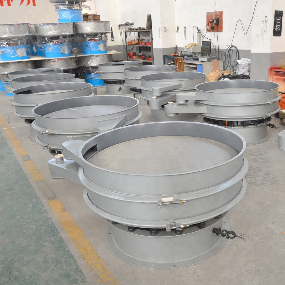 Stainless Steel Electric Sieving Flour Powder Industrial Rotating Rotary Circular Vibrating Screen Sieve Price