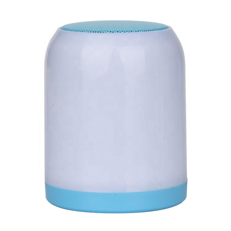 Coloré LED Bluetooth Haut-Parleur avec TF et TWS Fonction Portable Musique Boîte Haut-parleurs Pour Téléphone