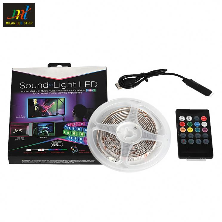 Affordable price and reliable quality back light flexible smd 25W 5V 5050 set tv led strip backlight