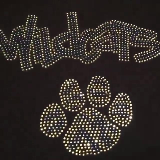 Пустая Высококачественная графическая винтажная Толстовка со стразами на заказ