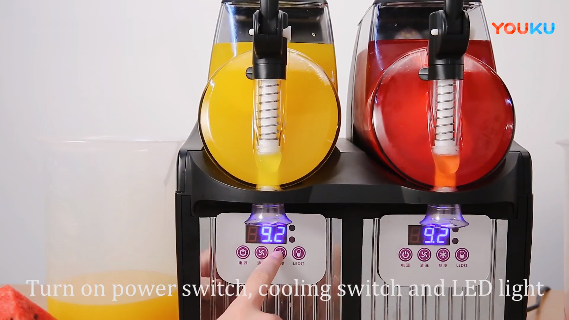 Ev tipi meyve küçük buzlu içecek makinesi