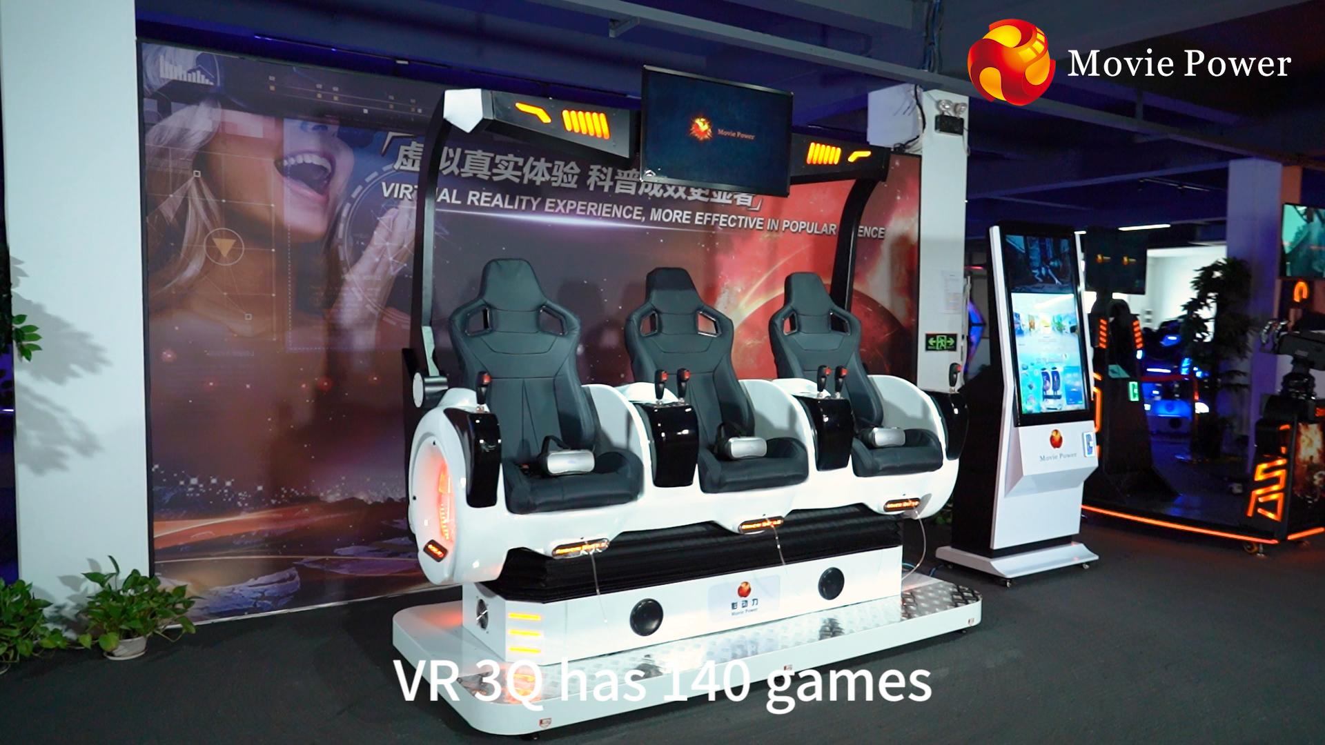 Новая технология 9D Vr 3Q игровой симулятор VR многопользовательская игра 9D Виртуальная реальность кинотеатр монетная машина