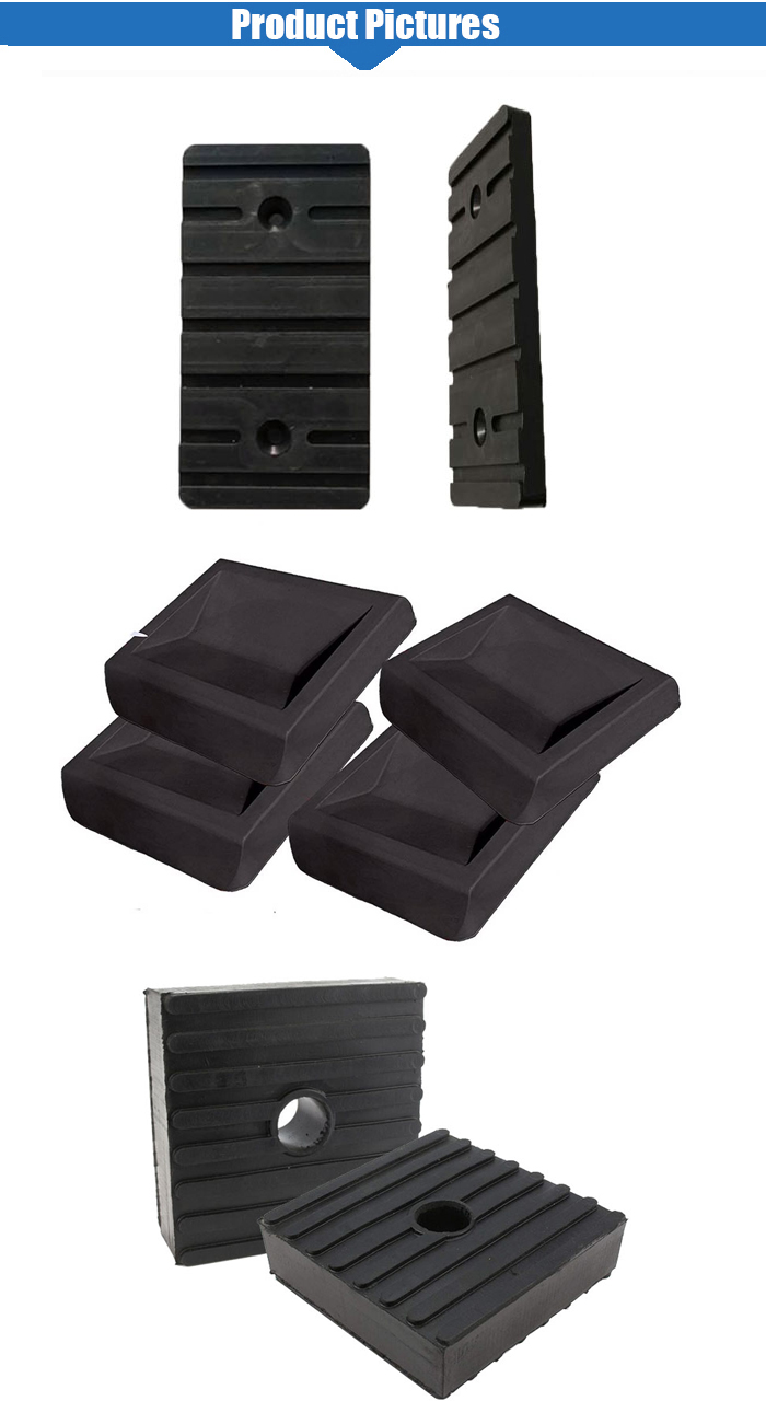 Good quality oil resistance abrasion and high temperature resistance rubber pads