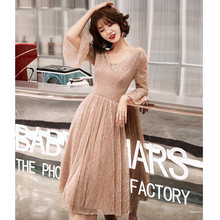 Женское платье для выпускного вечера It's Yiiya, элегантное платье с расклешенными рукавами, вечерние платья для ночного клуба размера плюс 2020, ...(Китай)