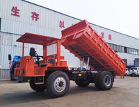Liniu 4x2 4x4 small off road tipper truck 5-20ton dump truck price