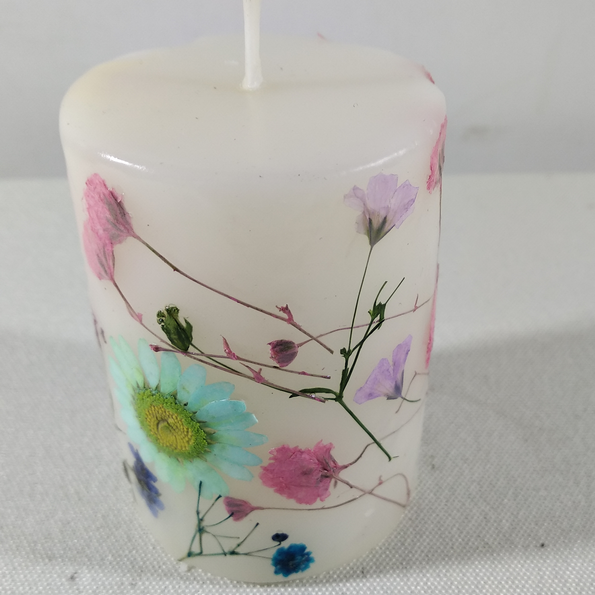 2018 china multicolor paraffin wax candle