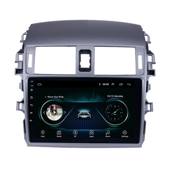 "Android 9"" 1+16G 4 Core for Toyota Corolla 2007-2013 Car Audio MP5 Player with Bluetooth"