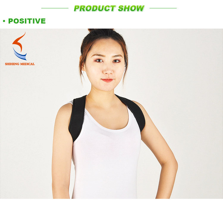 Factory Sell  Soft Comfortable Back Posture Corrector Brace for Women Men