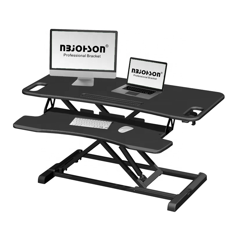 Eco-Friendly Sit Stand Ergonomic Electric Height Adjustable Laptop Desk