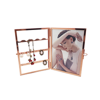 PF-1088 Custom design metal and glass picture phone frame wholesale