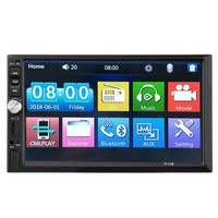 7 Inch 2 Din Car Stereo In Dash Receiver with Car Radio GPS Navigation, Touchscreen, CD/DVD Player, Android System,