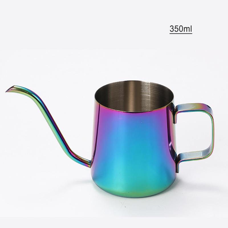 GUNOT кофейник, 250 мл/350 мл, 304 нержавеющая сталь, гусиная шея, Кофеварка, чайник, кофейник, кухонные инструменты(Китай)