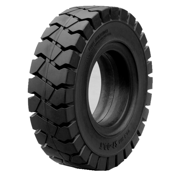 China factory wholesale pneumatic shaped tire skid steer tyres solid rubber tyre