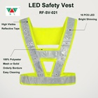 High Outdoor Sports Running Safety Vest LED