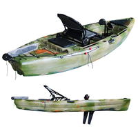 New Design Pedals Fishing Kayak with Mirage Drive Pedal Propulsion System