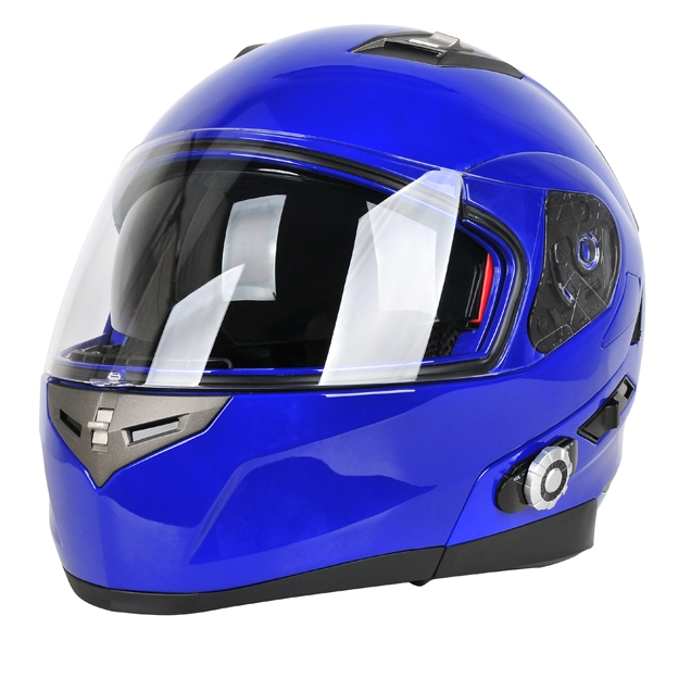 The most popular full face motorcycle street <strong>car</strong> helmet with <strong>Bluetooth</strong> intercom headset
