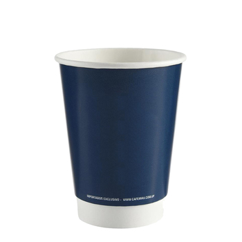 Wholesale Custom Disposable Paper Water Cup Printed PE Coated Double Wall Paper Cup