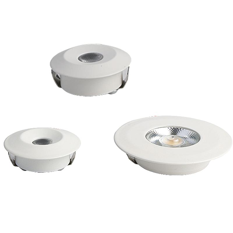 OKELI 2019 ZHONGSHAN Ultrathin Mini SMD3030 Spot Light Matt White Aluminum 2/3W Highly Cost Effective Indoor Commercial Lighting