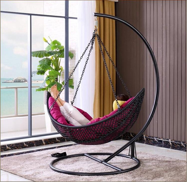 Balcony garden chair rocking chair shopping mall drink shop lounge chair