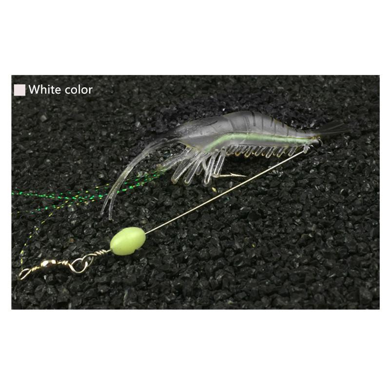 Highly Simulated Soft Lures Shrimp Bait Set Fishing Lure Hook Fishing Tackle Freshwater Saltwater Sea Fishing