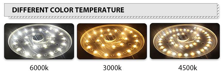 12W Eenvoudige Installatie Pmma Ronde Oppervlak Gemonteerde Led Plafond Verlichting Voor Eetkamer