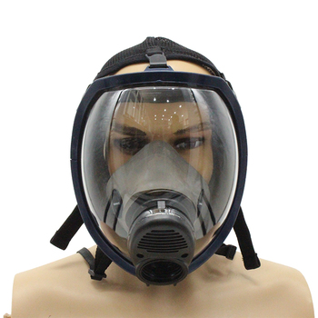 Rubber Particulate Chemical Full Face Gas Mask