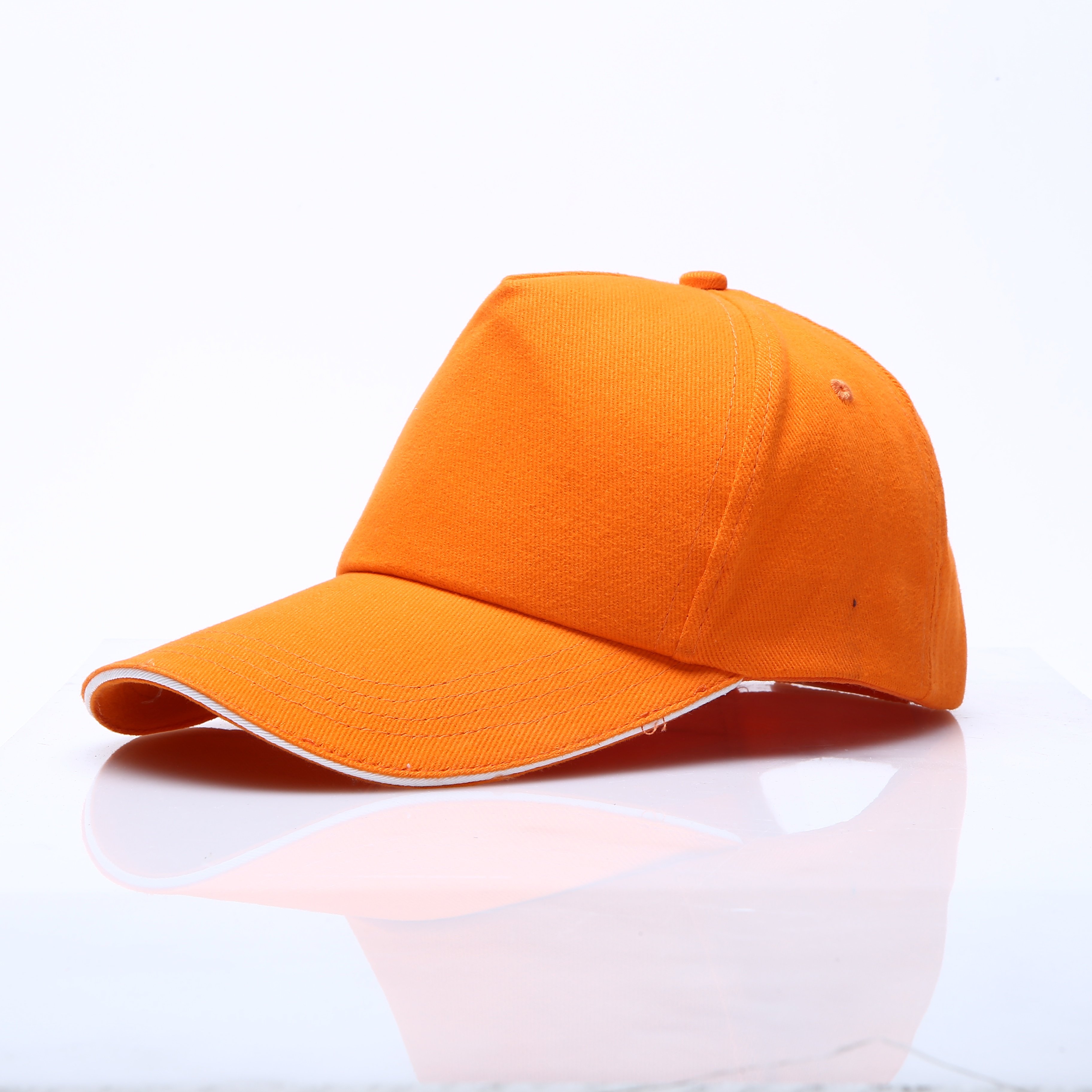 2020 new style customized plain dyed 5-panel baseball cap trucker cap