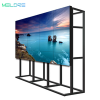 "46"" 49"" 55"" ultra narrow bezel LCD Video Wall for meeting room or monitor center 3x3 3x4 DID Hd Seamless"