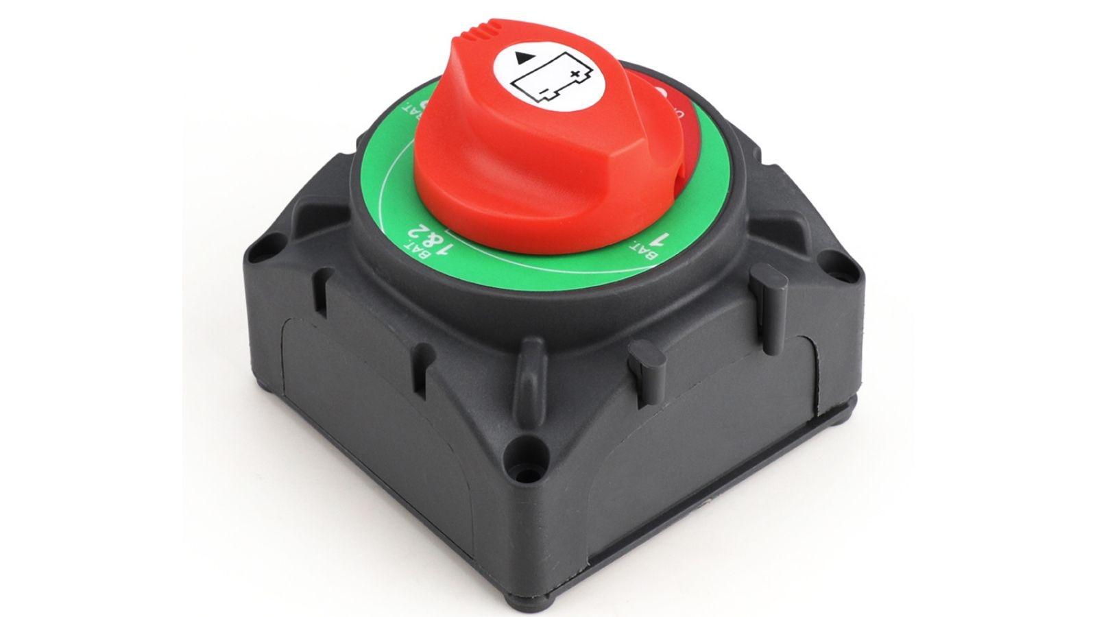 Heavy Duty Dual Bateria Disconnect Interruptor Seletor 1-2-Tanto-Off Interruptor Da Bateria