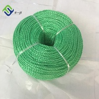 Commercial Fishing Net Used 3 Strand PP Danline Polypropylene Split Film Rope